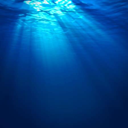Abstracte onderwater voor uw ontwerp Stockfoto