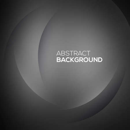 sleek: Black abstract Vector illustration for your design