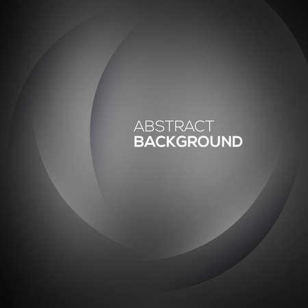 silky velvet: Black abstract Vector illustration for your design