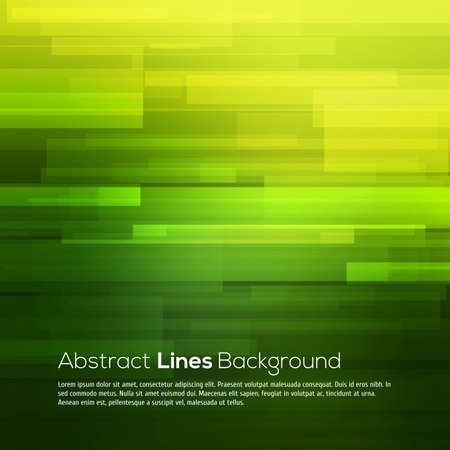 digital background: Green vector abstract background with lines for your design