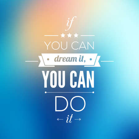 you can do it: You can do it Quote Typographical Poster, Vector Design. Motivational Quote for Inspirational Art.