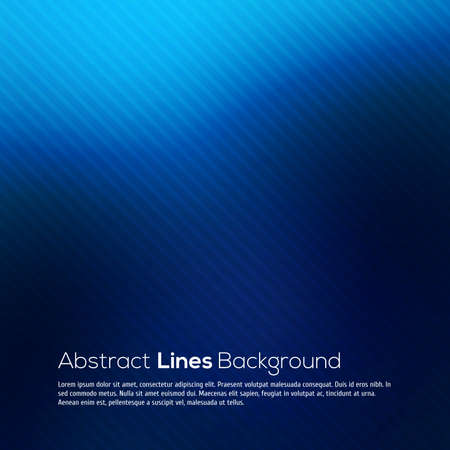 blue abstract: Blue abstract lines business vector background for your design