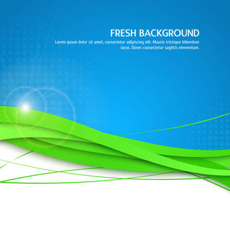 beautifull: Beautifull fresh background. Eco, green and blue background