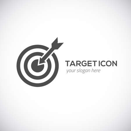 Target icon illustration
