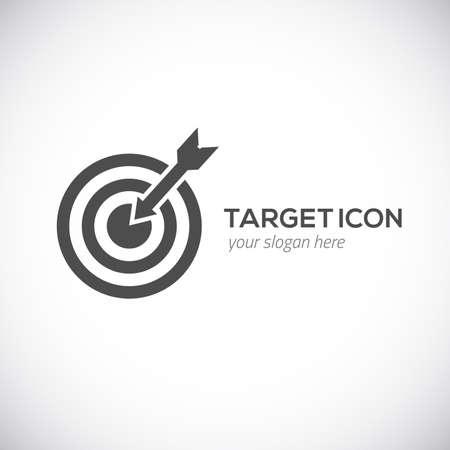 target arrow: Target icon illustration