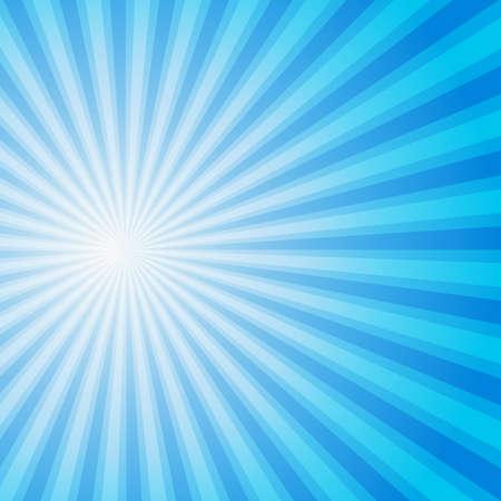 lucero: Azul Color del fondo de la explosi�n. Ilustraci�n vectorial para su dise�o.