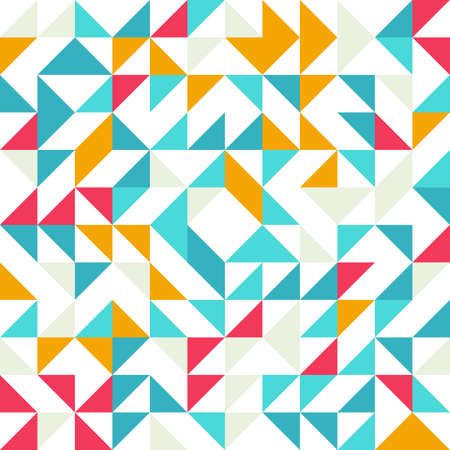 seamless geometric: Seamless geometric, vintage pattern. For your design