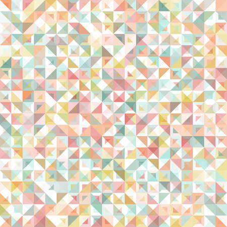 Seamless geometric, vintage pattern Vector Illustration
