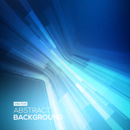 abstract line: Abstract blue geometric background. 3D perspective background