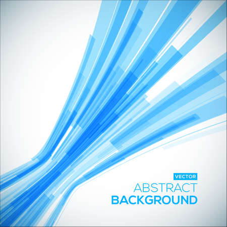 geometric lines: Abstract blue geometric background. 3D perspective background