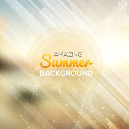 nightclub party: Summer abstract background.  Vector illustration
