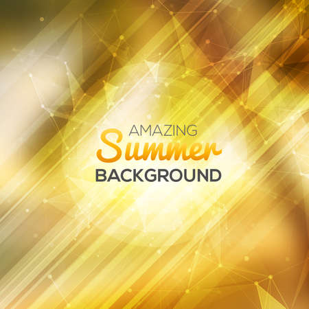 Summer abstract background.  Vector illustration