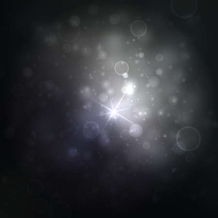 bright lights: Beautiful silver lights background with many brightness. Bright abstract blurred lights.