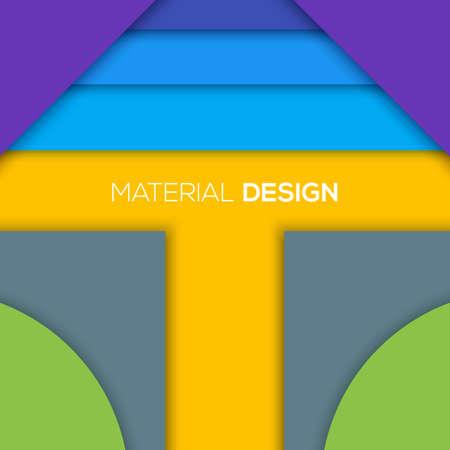 are modern: Modern unusual modern material design