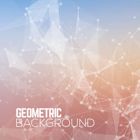 Geometric Polygonal abstract background.