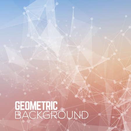 Geometrische Polygonal abstracte achtergrond.