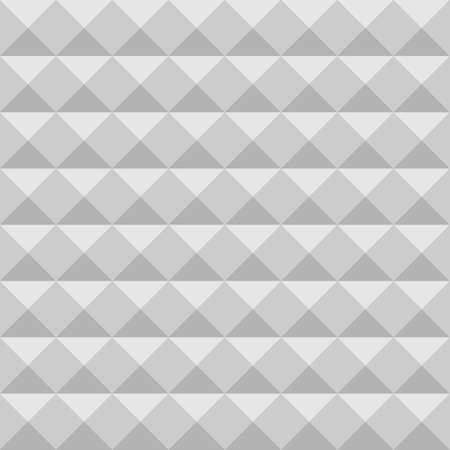 dampen: Acoustic foam wall, soundproofing. Seamless geometric pattern. Illustration
