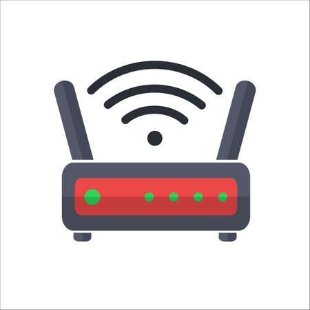 dsl: wireless router web icon