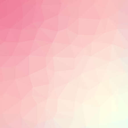 beige background: Abstract colorful triangulated geometric background, vector illustration