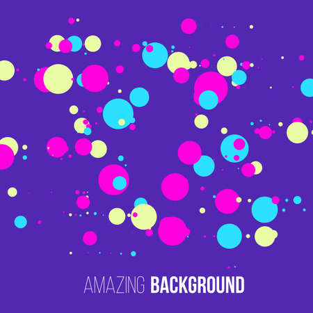 randomly: Abstract randomly dotted colorful background.