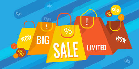 Big sale and discounts banner