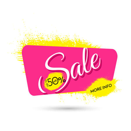 advertisements: Sale. Upto 50 percent off. More info. Illustration
