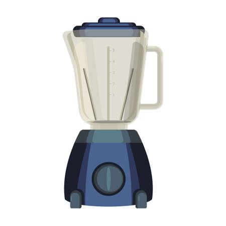 ミックスまたは食品の乳化に使用されるミキサー liquidiser 台所用品  イラスト・ベクター素材