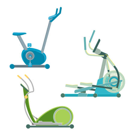 Elliptical training apparatuses to keep physical shape set