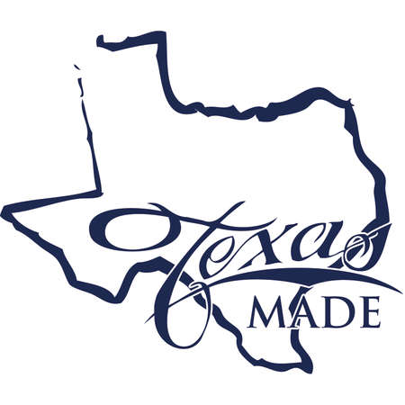 made: Texas Made Bragging Rights Illustration