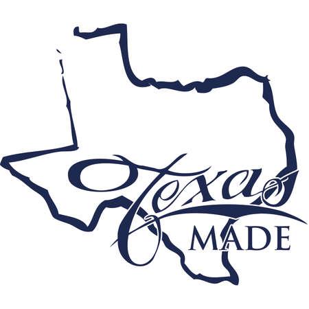 Texas Made Bragging Rights Иллюстрация