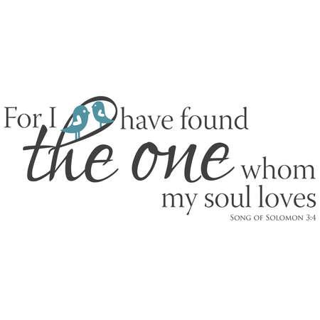 Song of Solomon 3:4 Иллюстрация