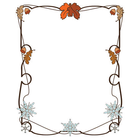 Fall to winter frame