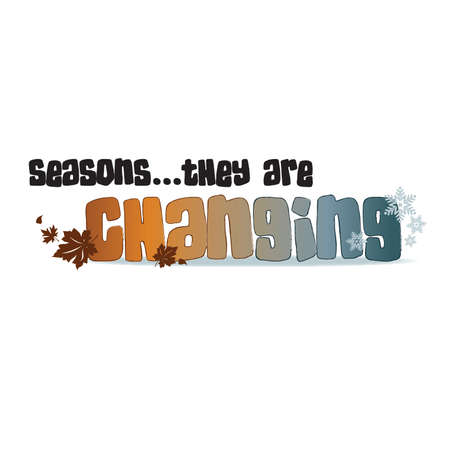 changing seasons: Seasons...they are changing title