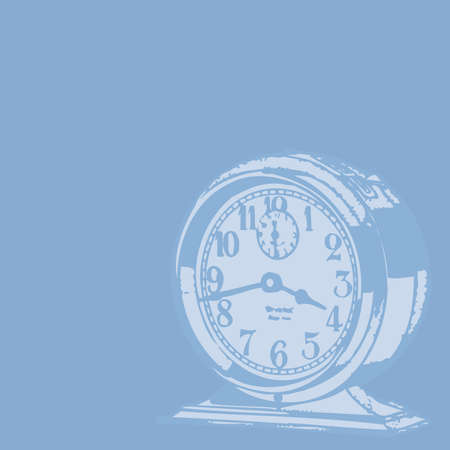 horloge ancienne: Horloge Antique Contexte Illustration