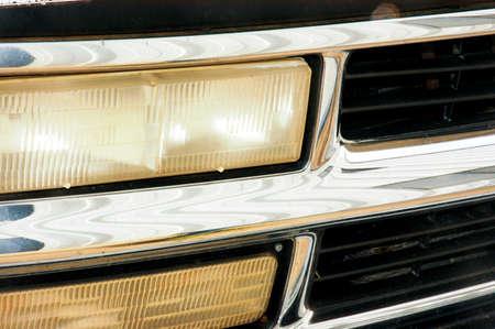 トラック二重ヘッドライト クローム バンパー