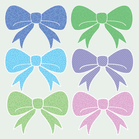 Cool Textured Cute Fashion Bows