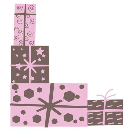 baby girl: Pink and Brown Baby Girl Shower Gifts