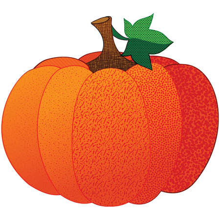 Cute Patterened Fall Pumpkin