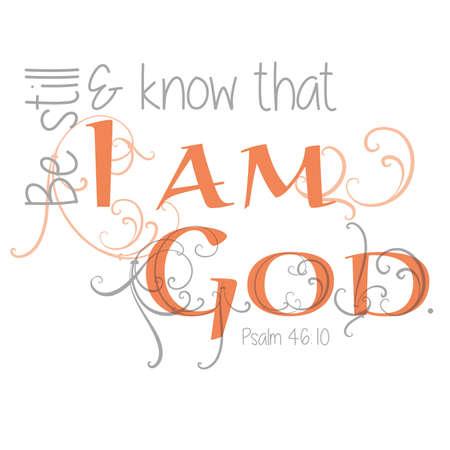 Inspirational Scripture Typography