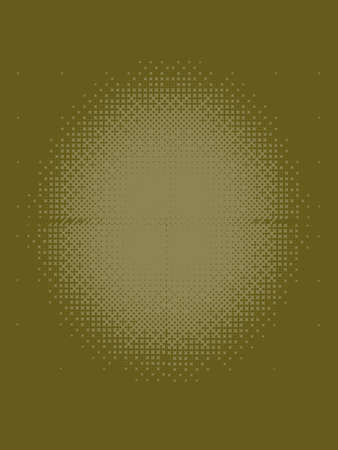 patterned: Darkest Olive Green Halftone Patterned Texture