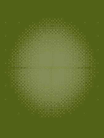 olive green: Dark Olive green Halftone Patterned Texture Stock Photo