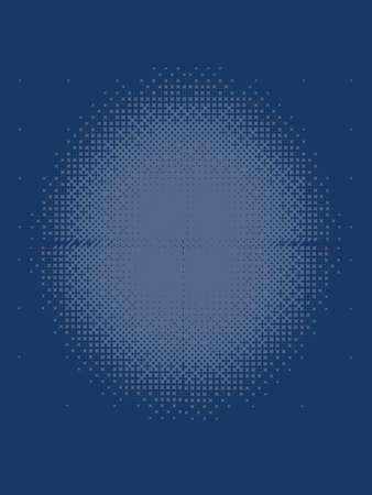 cobalt: Cobalt Blue Halftone Patterned Texture
