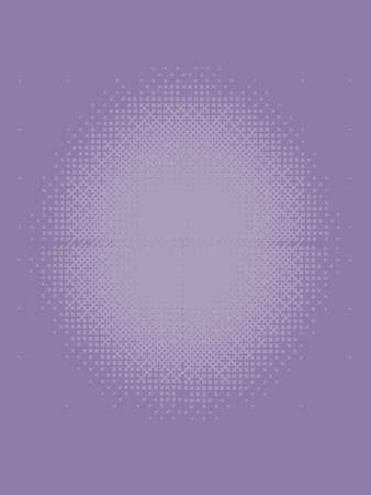 Lilac Halftone Patterned Texture Imagens