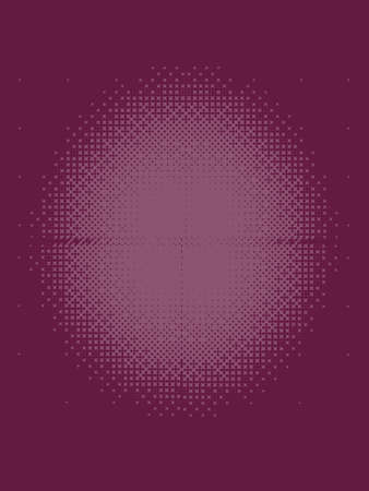 patterned: Dark Rose Halftone Patterned Texture
