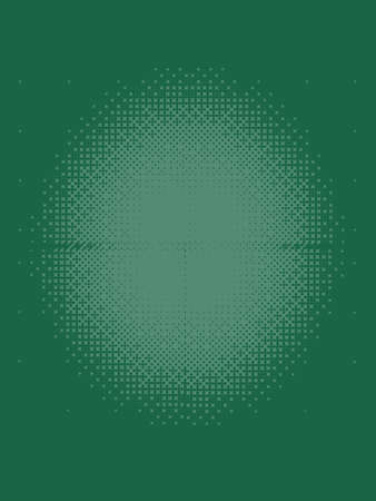 Emerald Green Halftone Patterned Texture