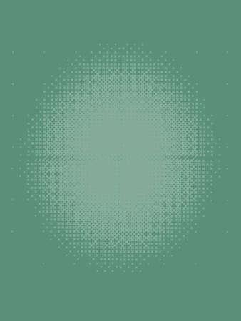 Light Emerald Green Halftone Patterned Texture Banco de Imagens
