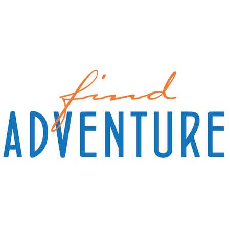Find Adventure Typography