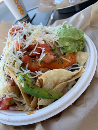 Mexican American nachos