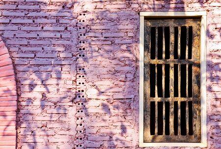 Window on wall of Castle