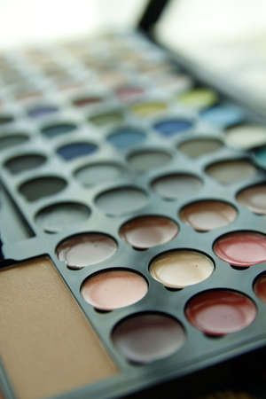 Make up colorful palette